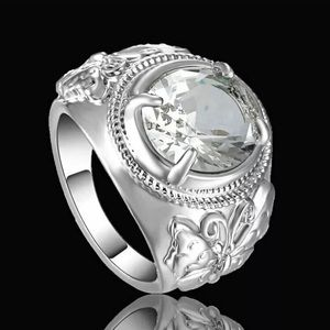 Crystal Statement Ring Size 6